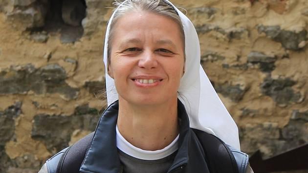 Řádová sestra Klára Marie Stráníková.