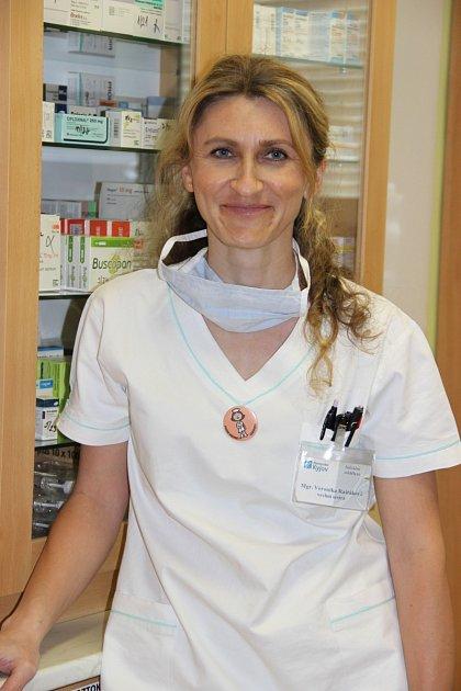 Veronika Raštáková - vrchní sestra infekčního oddělení