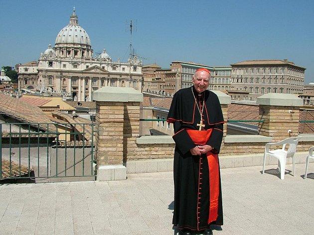 Kardinál Tomáš Špidlík.