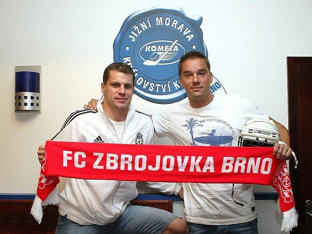 Petr Švancara a Petr Hubáček.