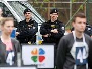 """Finálové kolo soutěže """"Máš na to"""" v areálu Sportovního klubu policie Kometa v Brně."""