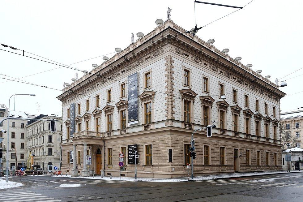Besední dům v brněnské ulici Husova.