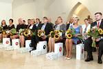 Slavnostní udílení cen Učitel roku 2020 v Křížové chodbě Nové radnice.