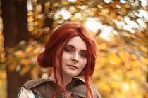 Adéla Stopka jako čarodějka Triss ze Zaklínače.