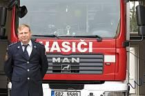 Brněnský hasič Martin Raus.