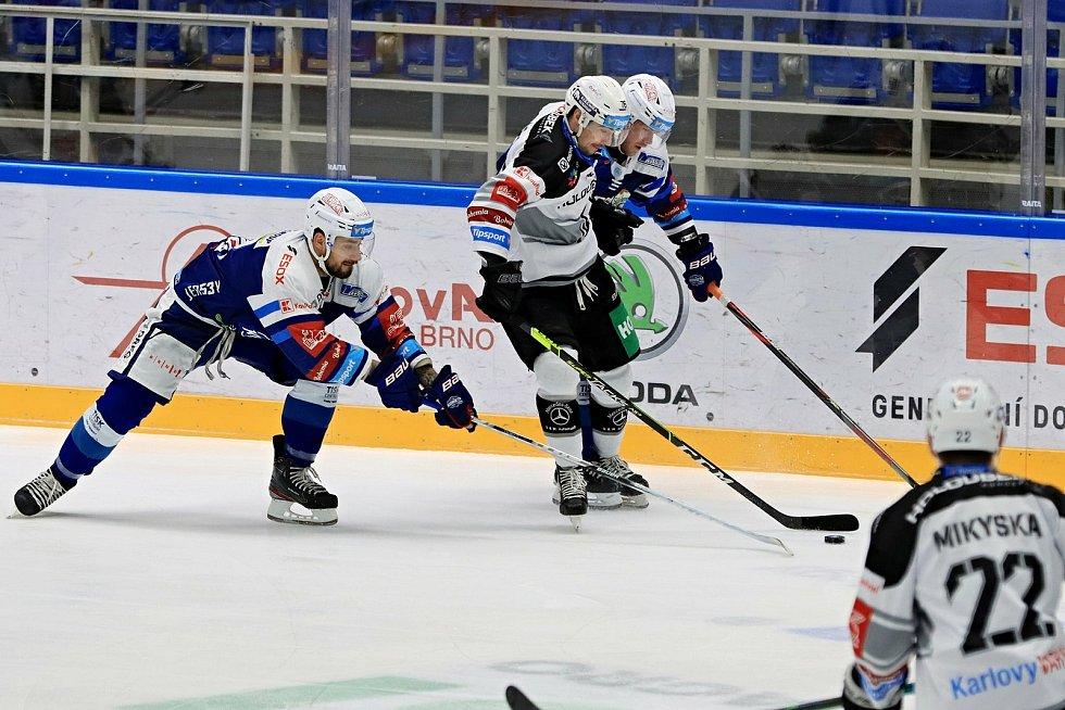Hokejisté Komety vyzvali potenciálního soupeře pro předkolo Karlovy Vary.