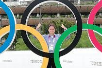 Roman Klecker patřil v olympijském Tokiu k nejvytíženějším rozhodčím.