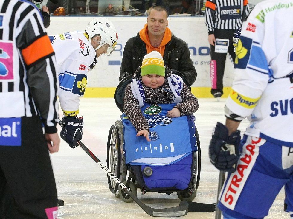 Brněnští hokejisté ve 45. extraligovém kole doma nestačili v derby na Zlín. Podlehli mu jednoznačně 0:4