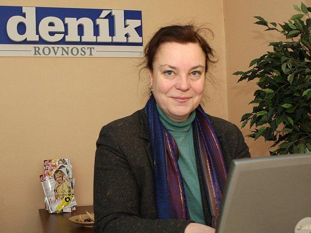 Vedoucí studijního a dokumentačního centra ve vile Tugendhat Dagmar Černoušková.