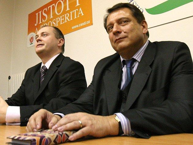 Hašek s Venclíkem   jednají o koalici