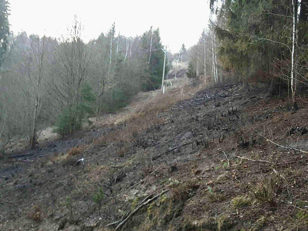 Silný vítr zaměstnal o víkendu jihomoravské hasiče. Kvůli jeho následkům vyjížděli třiačtyřicetkrát.
