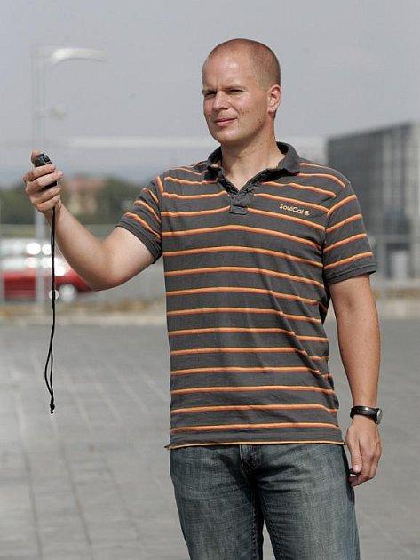 Kondiční trenér Jan Cacek.