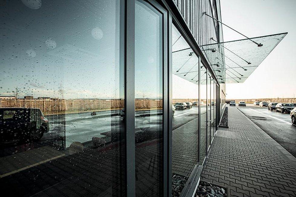 Hala Apex v areálu Semmelrock v Pohořelicích, 2. místo v kategorii Průmyslové a technologické stavby.