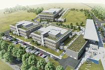 Středoevropský technologický institut CEITEC - areál Pod Palackého vrchem.