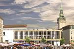 Vizualizace kryté městské tržnice na Zelném trhu.