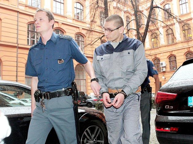 Jiří Procházka u soudu.