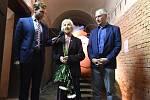 Brno 26.6.2020 - pietní akt k výročí popravy Milady Horákové