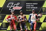 Brno 04.08.2019 - Moto GP 2019 - 1. Marc Marquez  2. Andrea Dovizioso  3. Jack Miller