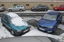 Řidiči si zvykají na obrácení jednosměrného provozu v brněnské ulici Za Divadlem.