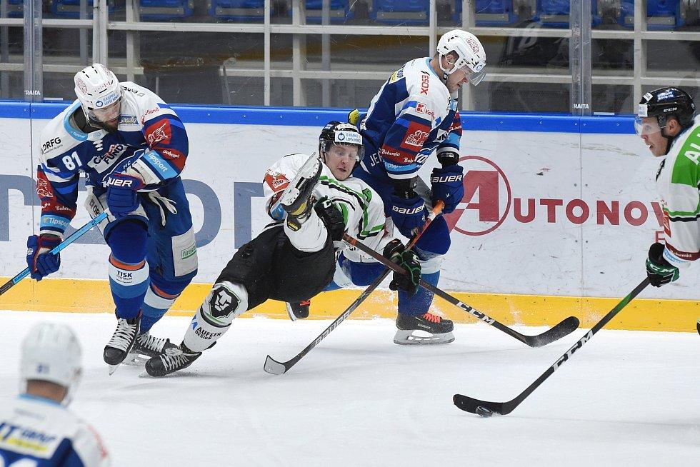 Brno 5.2.2021 - domácí HC Kometa Brno (modrá) proti BK Mladá Boleslav
