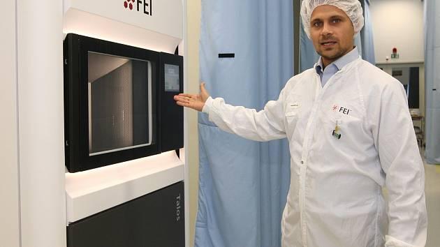 Nové technologické centrum společnosti FEI v brněnské průmyslové zóně Černovická terasa.