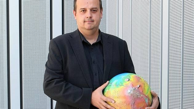 Ředitel brněnské hvězdárny Jiří Dušek.