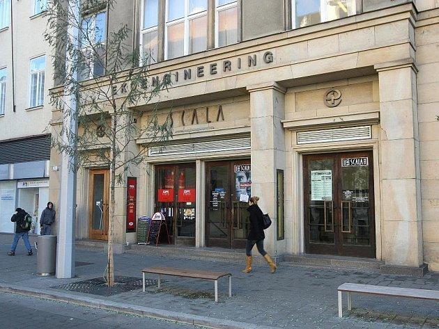 Kino Scala v Brně.