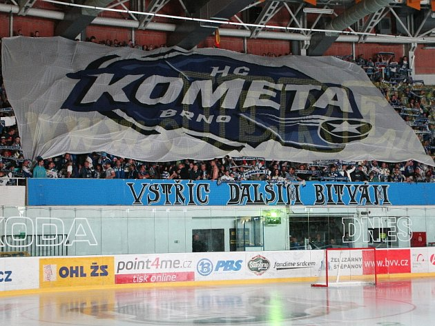 HC Kometa Brno - ilustrační foto.