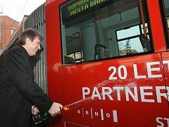 Primátoři  křtili tramvaj