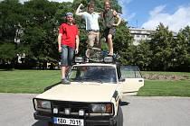 Expedice tří mladých studentů z Brna do Mongolska.