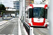 Otevření zrekonstruované ulice Plotní a nové tramvajové tratě