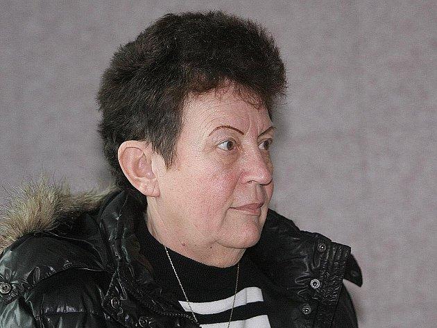Sociální pracovnice Lea Petříčková u soudu v Brně.
