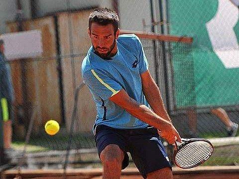 Odchovanec Tennis Clubu Brno Václav Šafránek.