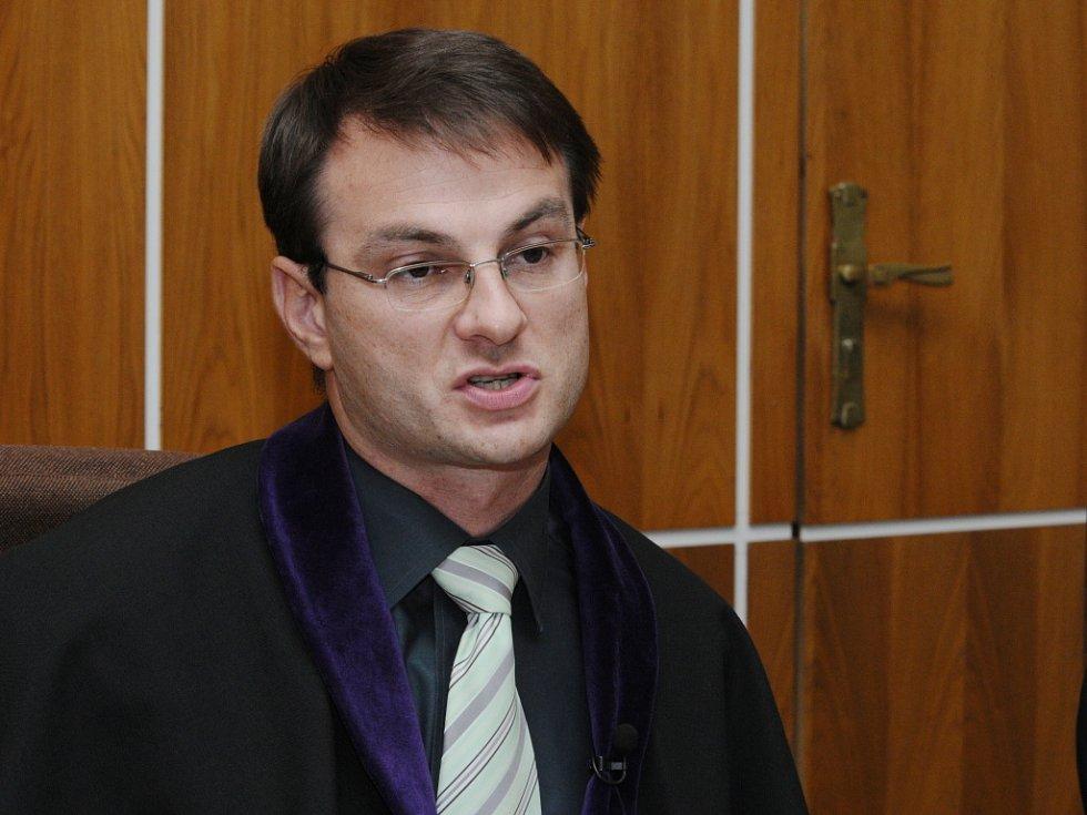 Padl rozsudek v kauze Kuřim. Na snímku soudce Pavel Göth.