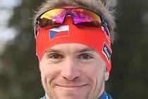 Biatlonista Ondřej Hošek