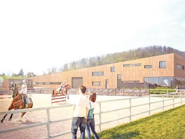 Soukromý majitel chce na pozemku vedle rybníku Srpek vystavět areál pro chov koní a rekreaci. Součástí objektu budou stáje, sklad sena, venkovní i vnitřní jízdárna a restaurace.