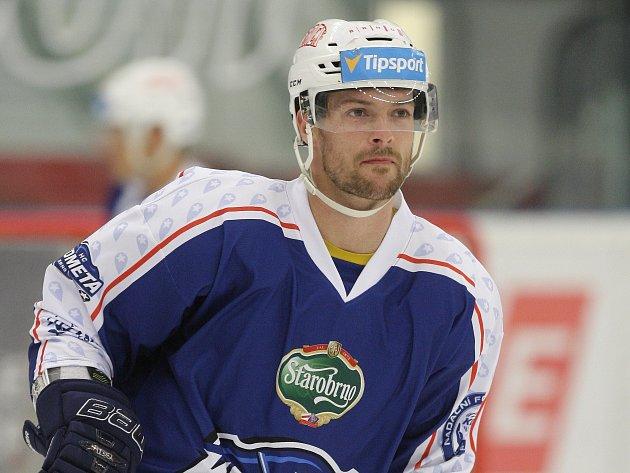 Hokejový obránce Michal Gulaši.