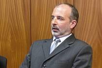 Odsouzený soudce Jiří Pešek.