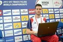 Jaroslav Kára mapuje světový šampionát v dráhové cyklistice v Minsku.