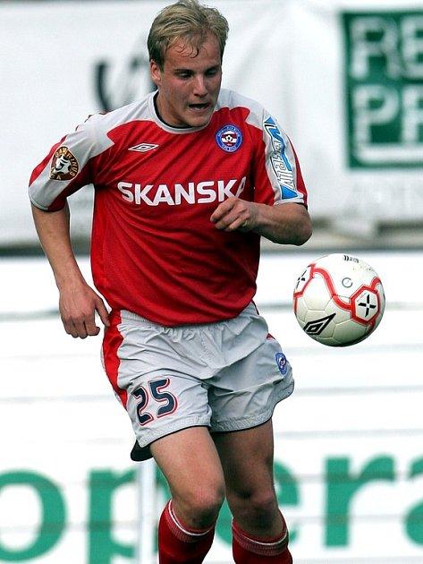 Záložník Českých Budějovic Pavel Mezlík prožil velkou část kariéry v Brně. Hrál zde až do roku 2007, teď se mu postaví jako soupeř.