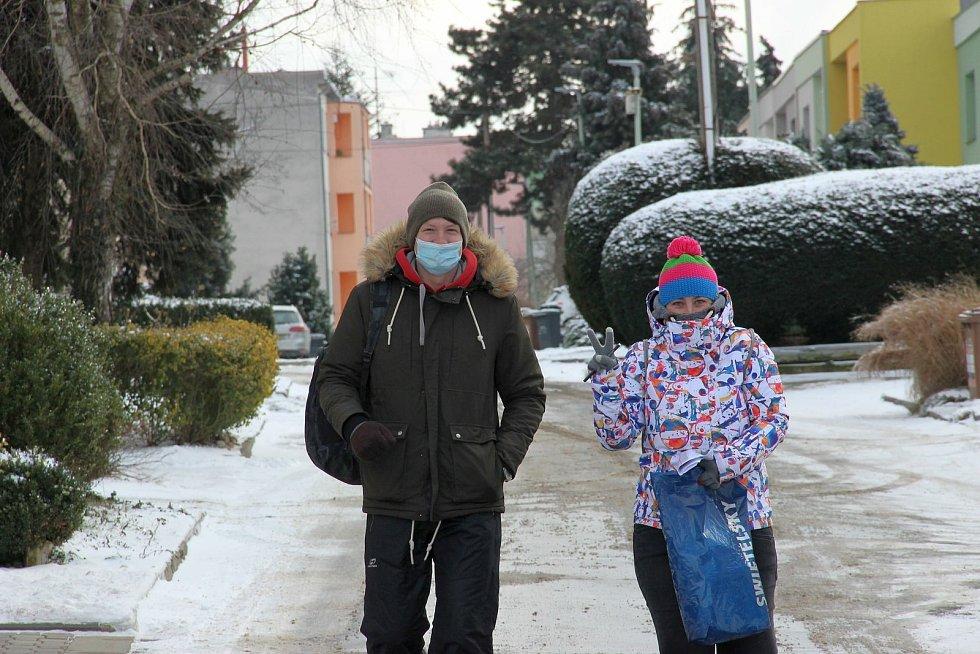Život s koronavirem na jihu Moravy. Ilustrační foto