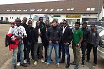 Bony Wilfried se z Pobřeží slonoviny dostal přes Spartu Praha až do anglické Premier League, kde obléká dres Swansea. Jeho možní následovníci se objevili na kempech v Rosicích.