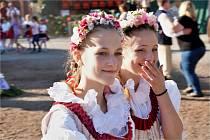 Poslední zářijový víkend patřil v Dolních Kounicích Svatováclavským hodům.