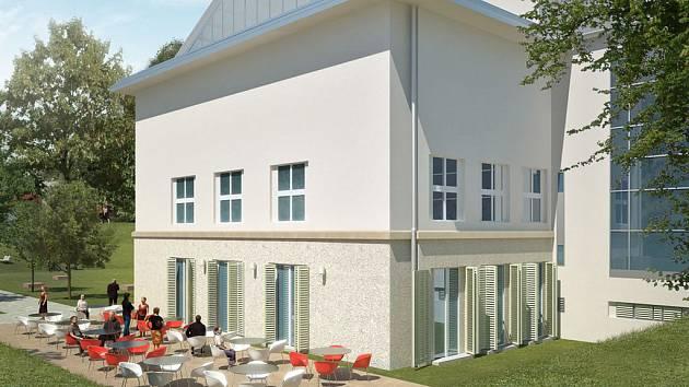 Galerii čeká mnoho změn. Přibude velké okno, a především kavárna otevřená do parku Koliště. Ta by mohla sloužit i jako zadní vchod do budovy.