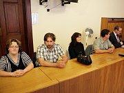 Kauza vyměněných miminek z třebíčské nemocnice u brněnského soudu.