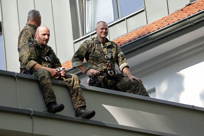 Zážitkový den s městskou policí na brněnské Riviéře