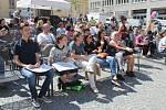 Žáci uměleckých škol vystoupili na Dominikánském náměstí