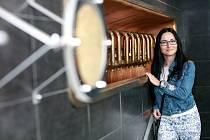 Zdeňka Lukášková z Brna vyhrála soutěž o nejlepší doma vařený nefiltrovaný ležák.