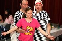 Ples v pyžamu v kulturním domě Rubín.