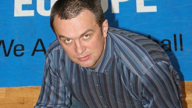 Spolumajitel a generální manažer basketbalového týmu Frisco Sika Brno Jiří Hamza.